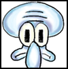 How to Draw Squidward Easy Step by Step Drawing Lessons for Kids