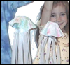 Jellyfish Coffee Filter Craft for Kids