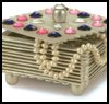 Gemstone Jewelry Box Projects : Jewelry Box Crafts for Girls and Teens