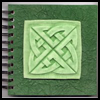Potato   Putty Celtic Journals  : How to Make Journals Diaries Instructions for Teens and Children