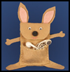 Kangaroo iPod Pouch Craft for Kids