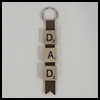 Scrabble   Tile Key Chain for Dads  : How to Make Keychains Crafts Ideas for Children
