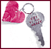 Heart   Key Chains  : How to Make Keychains Crafts Ideas for Children