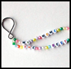 """My Mom's the Best"" Keychains : Keychain Crafts for Kids"