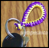 Snake Knot Key Chains : How to Make Keychains Crafts Ideas for Children