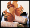 Paper Squirrel Favors Crafts Activity