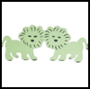 Lion Crafts for Kids : Make a Lion Frieze