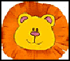 Stuffed Lion Crafts for Kids