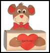 Monkey Box for Valentine's Cards Craft