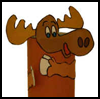 Moose Toilet Paper Roll Craft for Kids