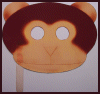 Monkey Mask Craft Idea for Kids