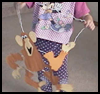 Monkey Puppet or Paper Craft for Kids