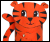 Tiger Toilet Paper Roll Craft for Kids