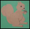 Paper Squirrel Craft Activity for Children