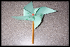 Simple   Paper Pinwheel Crafts  : Crafts with Pencils and Pens