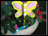 Kid   Butterfly Crafts  : Pencil Crafts Ideas for Children