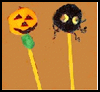 How   to Make Halloween Pencil Toppers  : Pencil Crafts Ideas for Children