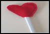 Heart   Pencil Toppers  : Pencil Crafts Ideas for Children