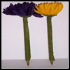 Blooming   Flower Pens  : Pens Crafts and Pencils Crafts for Kids
