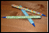 Beaded   BIC Pen Crafts  : Pens Crafts and Pencils Crafts for Kids