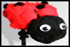 Ladybug   Pencil Toppers  : Crafts with Pencils and Pens