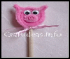 Chenille   Pig Pencil Pals  : Pens Crafts and Pencils Crafts for Kids