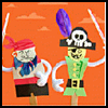 Pirate Arts and Crafts for Children