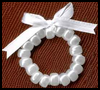 Pony   Bead Wreath Ornaments  : Activities with Pony Beads for Children