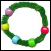 Pony   Bead Wreaths  : Activities with Pony Beads for Children