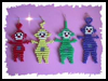 TV   Tubbies  : Activities with Pony Beads for Children