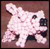 Pigs  : Crafts Ideas with Pony Beads