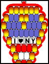 <strong>I   Love NY Heart</strong><strong> </strong><strong>Pony     Bead Pattern</strong>