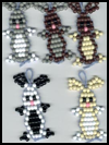 Five   Cute Bunnies : Pony Bead Crafts for Kids