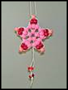 Pony   Bead Star Ornaments  : Activities with Pony Beads for Children