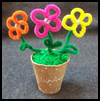 Pipecleaner   Flowers  : Crafts Ideas with Pony Beads