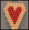 Pony   Bead Heart Patterns  : Activities with Pony Beads for Children