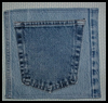Recycled Denim Potholder