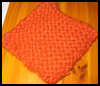 Magic   Potholder Seed Stitch Crochet