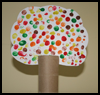 Fingerprint   Fall Trees  : Thanksgiving Crafts for Preschoolers