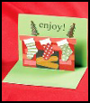 <strong>Christmas    Pop-</strong><strong>Up      Cards  : Ideas for Recycling Christmas Cards for Children</strong>