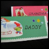 Recycled    Place Cards  : Recycle Old Greeting Cards