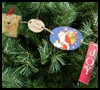 Christmas    Card Garlands  : Recycling Christmas Cards for Children