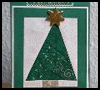 Patchwork    Christmas Trees   : Alternate Uses for Old Christmas Cards