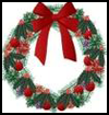 Card    Wreaths  : Recycle Christmas Cards Ideas for Kids