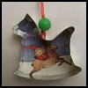 Thrifty   Crafts Old Christmas Cards: Tree Ornaments