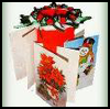 Christmas    Card Displays  : Recycling Christmas Cards for Children