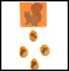 3D Squirrel Paper Craft Idea for Kids