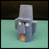 Squidward's Tiki House Printable Foldable Model