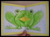 Talking Frog Card Arts and Crafts Activity for Children