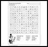 Thanksgiving   Day Word Searches  : Free Thanksgiving Printable Worksheets